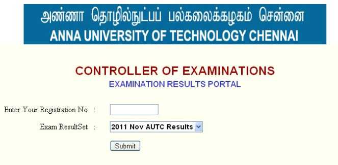 Anna University of technology Chennai 2nd semester revaluation results ...