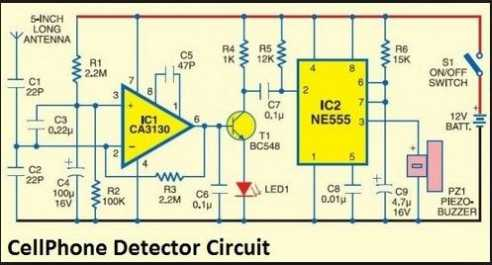 Cell Phone Jammer >> Circuit Diagram of Mobile Jammer - 2018-2019 StudyChaCha