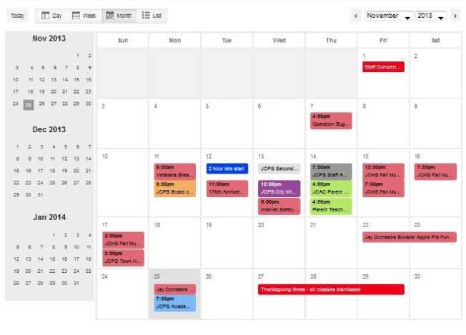 jefferson city public schools district calendar 2018 2019 studychacha