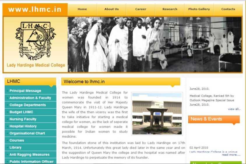 Lady hardinge medical college Delhi Website - 2018-2019 ...