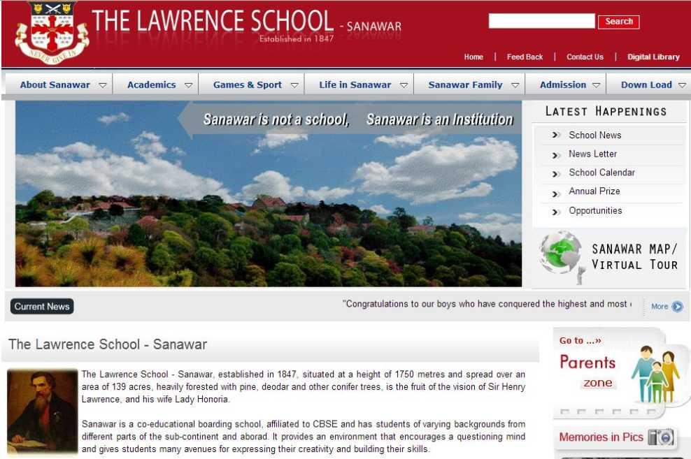 Lawrence School Lovedale Lawrence School Sanawar