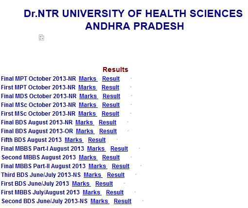 first mbbs 2015 results