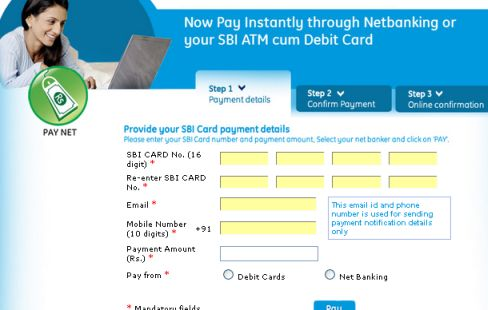 Online Payment Of Icici Credit Card Bill Desk Design Ideas Sbi Pay