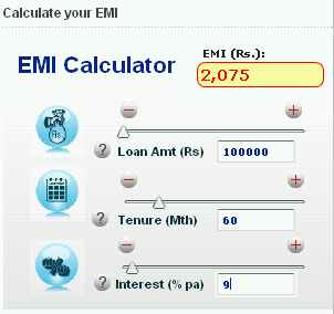 home loan online home loan calculator