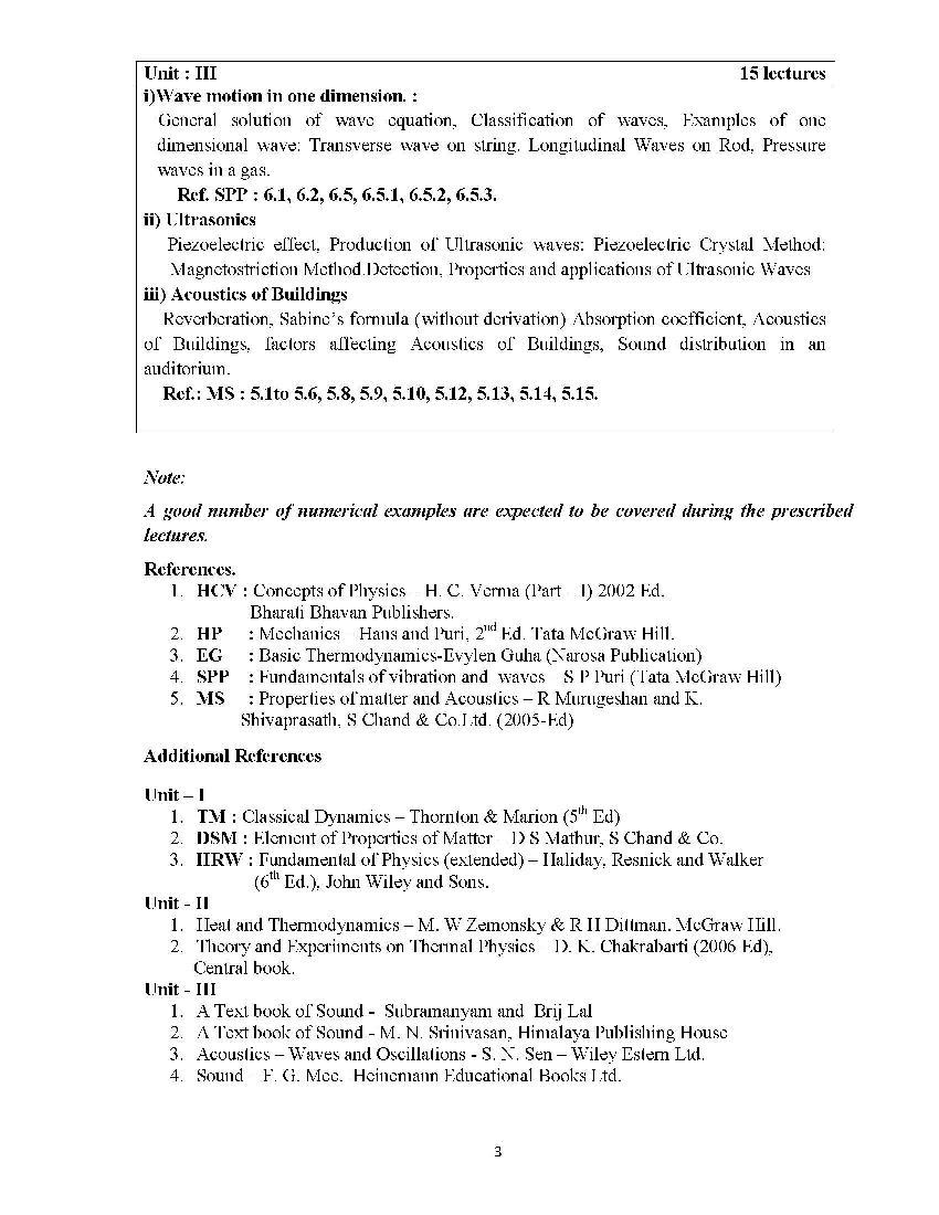Bsc physics syllabus mumbai university 2018 2019 studychacha i am providing you the mumbai university bsc physics 1st year syllabus for you see the images malvernweather Choice Image