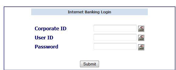 online register for internet banking in corporation bank