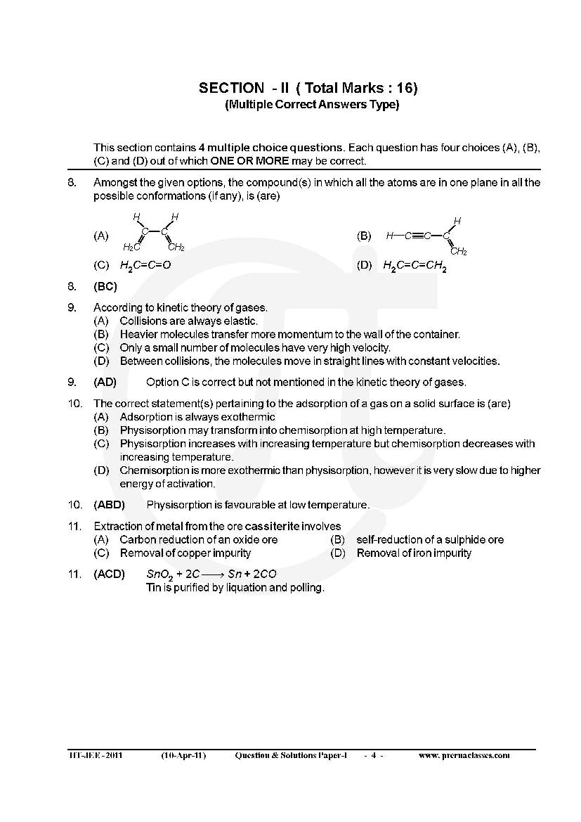inorganic chemistry questions