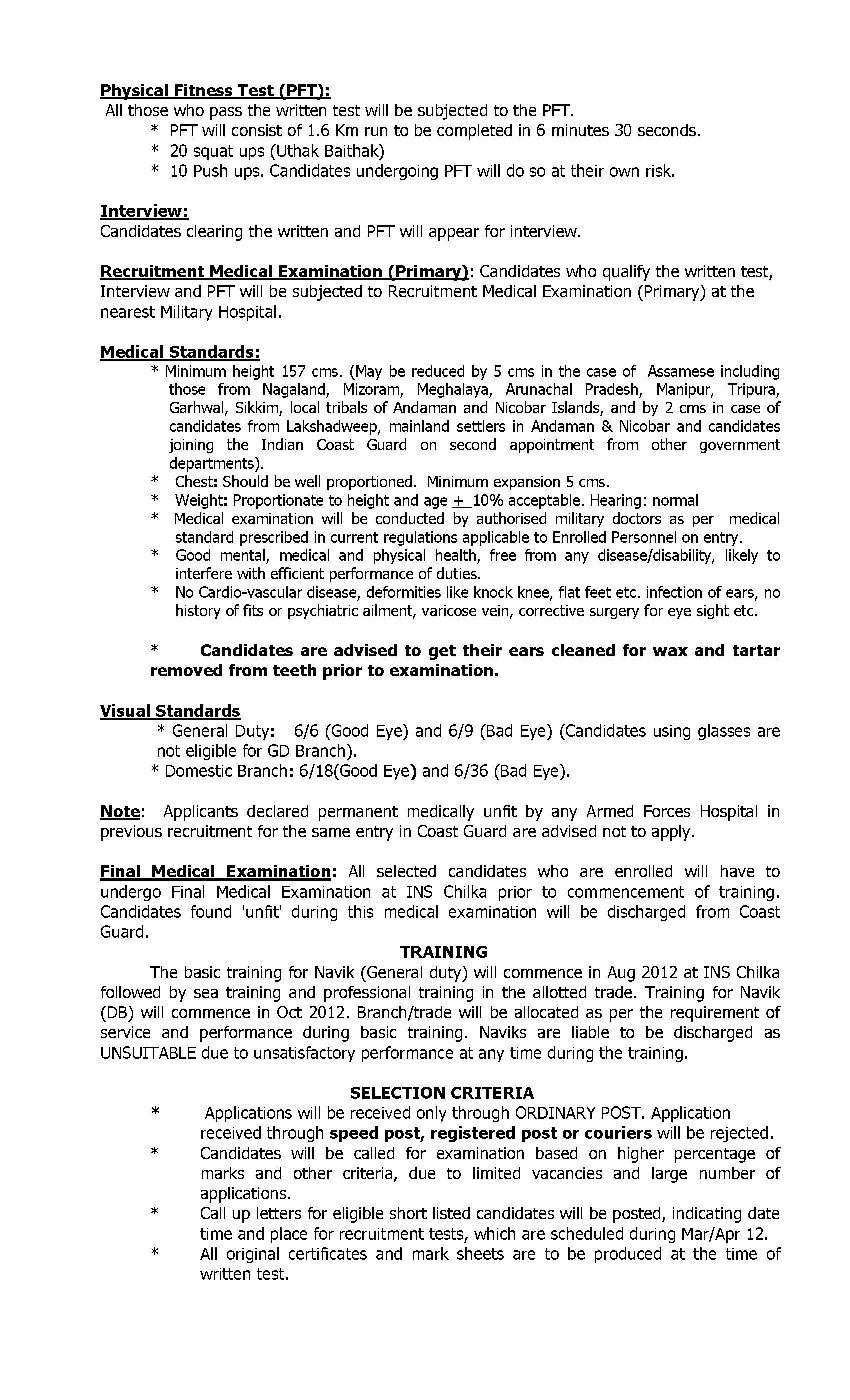 Syllabus indian coast pdf guard
