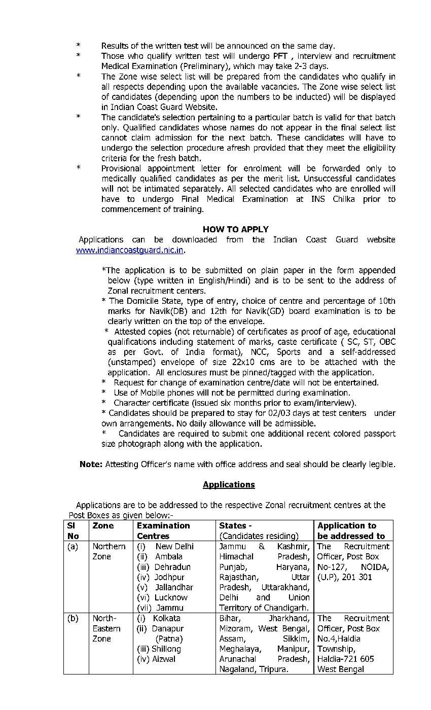 Guard indian syllabus pdf coast