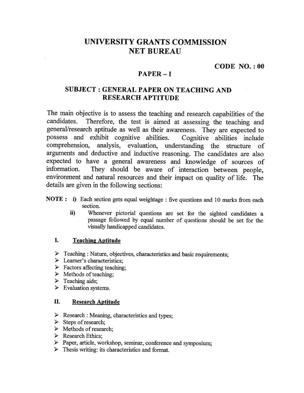 Exam syllabus TCC - June 2019 - Serviço Personalizado