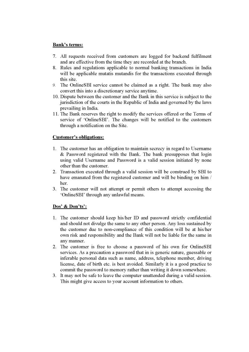 indian bank letter of credit format