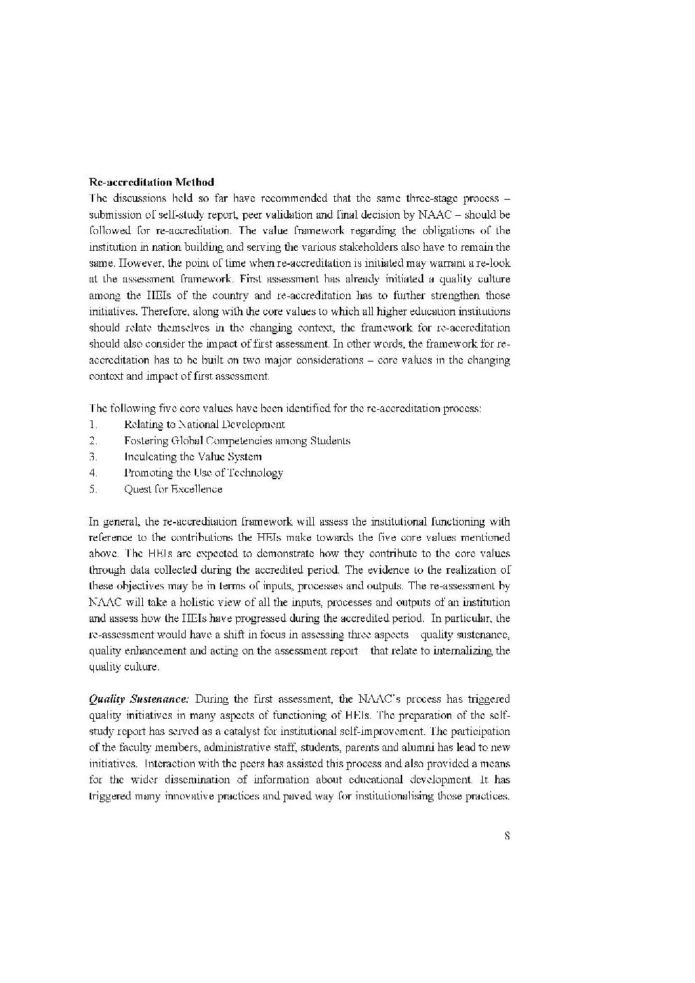 thesis on quality assurance in higher education International trends in higher education 2015 1 i nternationalisation is of growing significance worldwide, with economic,  l b) improving the quality of higher.