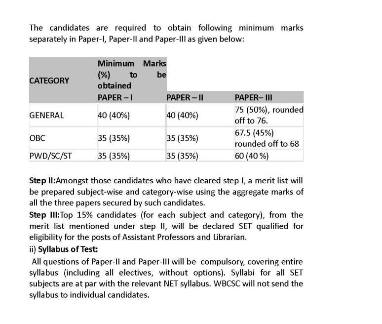 West bengal college service commission question paper 2015