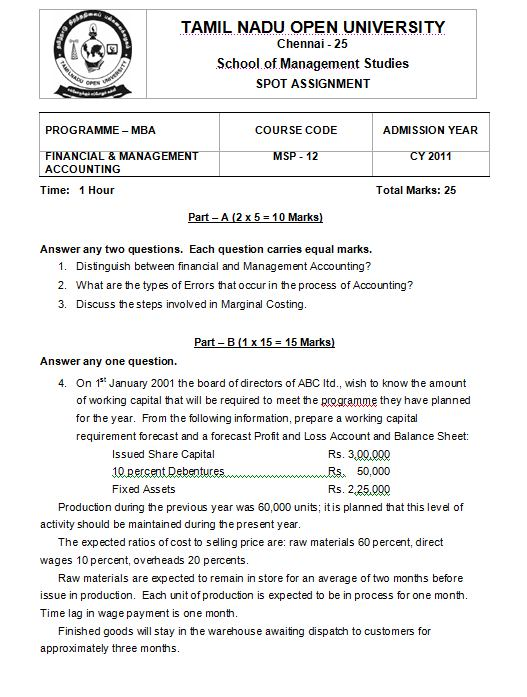 Assignment in Shipping?