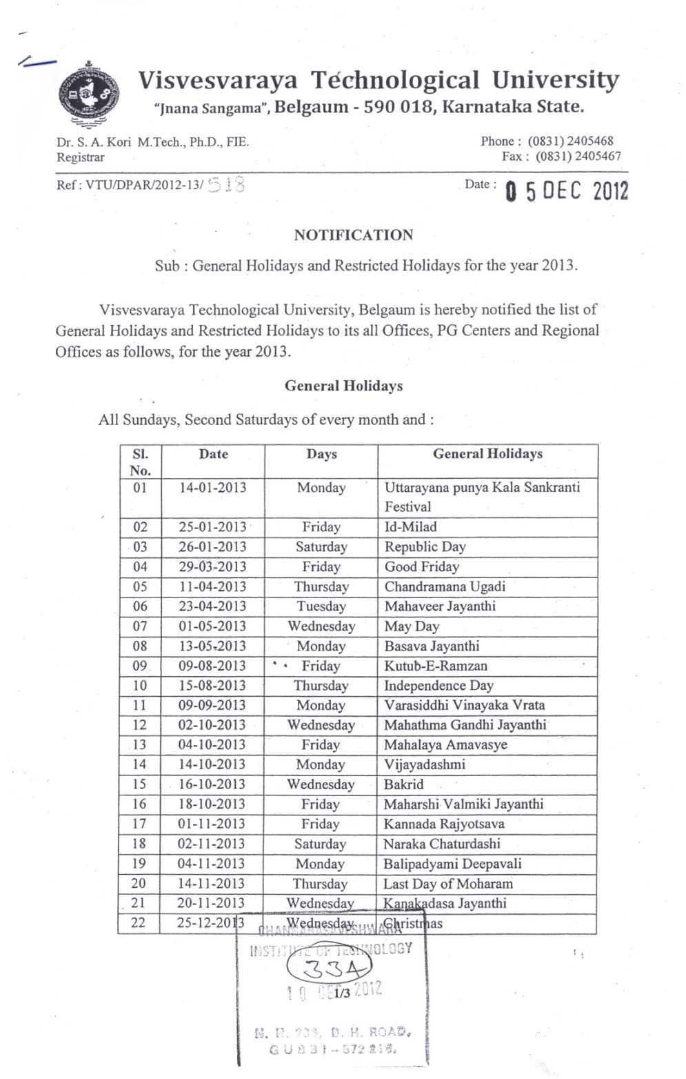 Calendar Karnataka : Studychacha reply to topic vtu calendar holidays