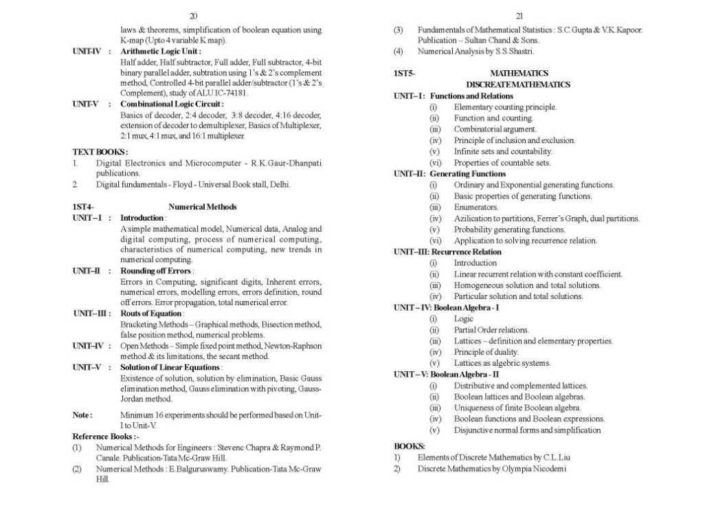 Amravati University Syllabus BCA - 2018-2019 StudyChaCha