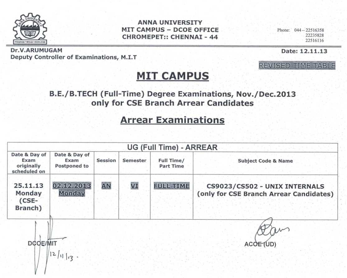 2012013 zica examinition december time table rachael edwards for Rtu 5th sem time table