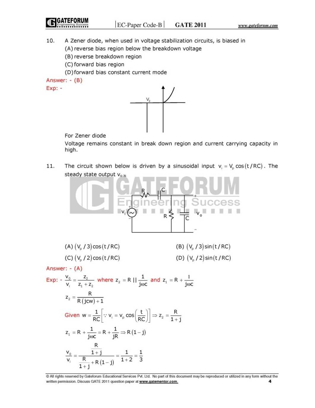 gate question paper Gate ec question paper collections gate previous year question papers with answers for ece   gate electronics and communication engineeri.