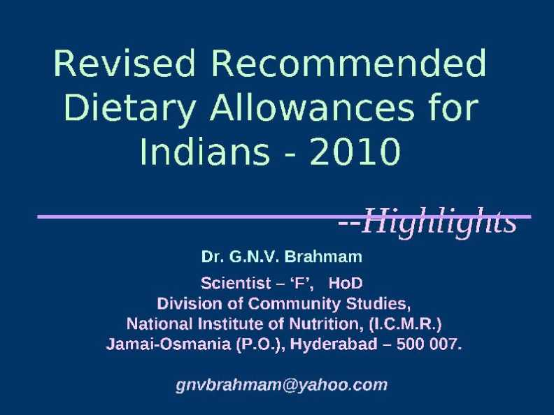 an analysis of the topic of the nutrition and the recommended dietary allowances Challenges for the environmental assessment of nutrition (i) comprehensive assessment most studies only analyze climate impacts, although data, methods, and tools are readily available for a more comprehensive analysis (ii) assessment of sustainability the.