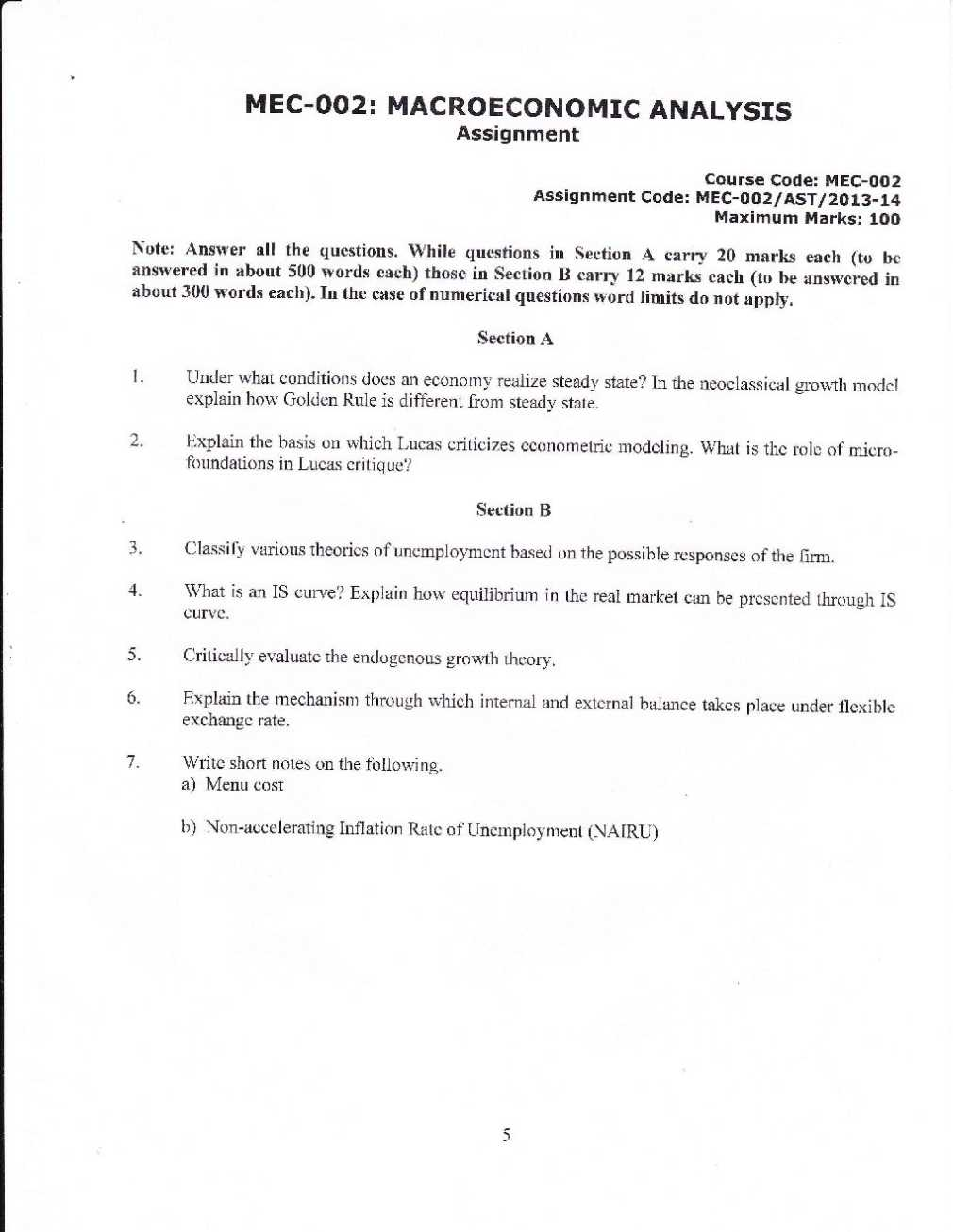 Ignou assignment b.ed 2014 solved