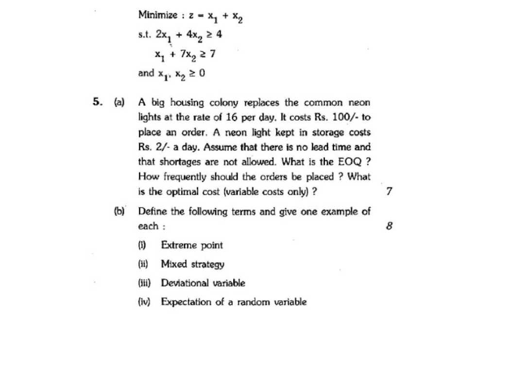 MCSE-004 Solved Assignments