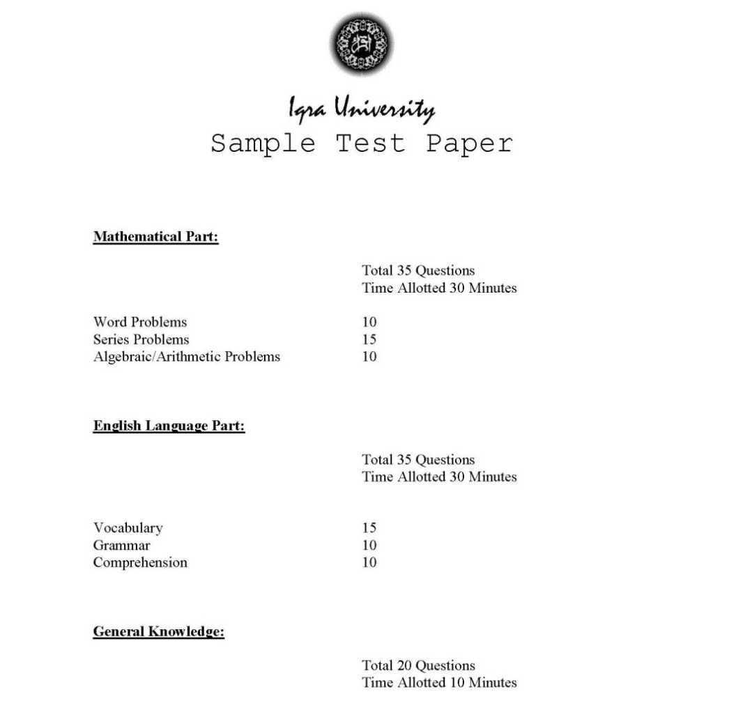 Student Testing Services