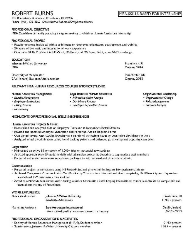 am providing the following sample resume mba finance sample resume