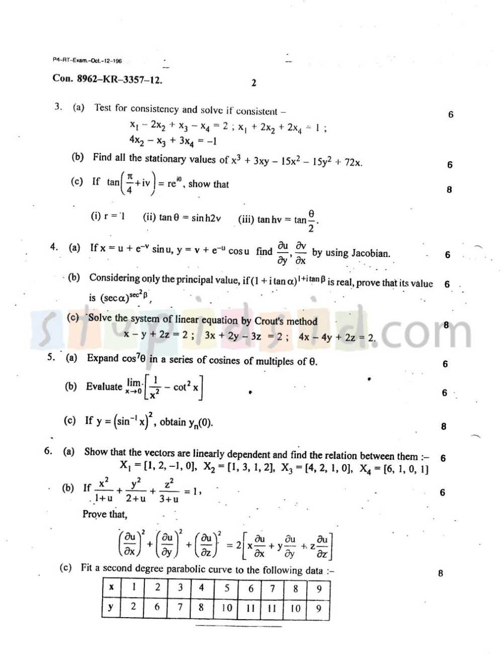 Mumbai university engineering solved question papers 2018 2019 question paper malvernweather Gallery