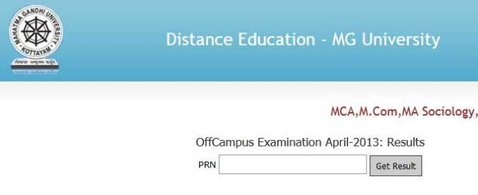 Mba Results: Mba Results Mg University