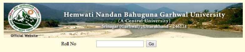 Hnb university result