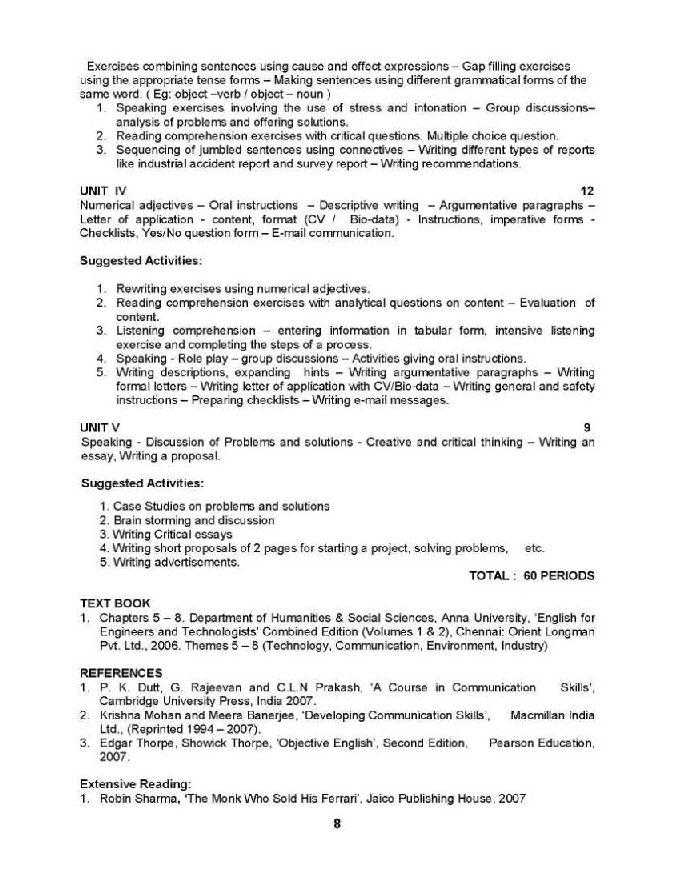 communication skills notes 1st semester pdf