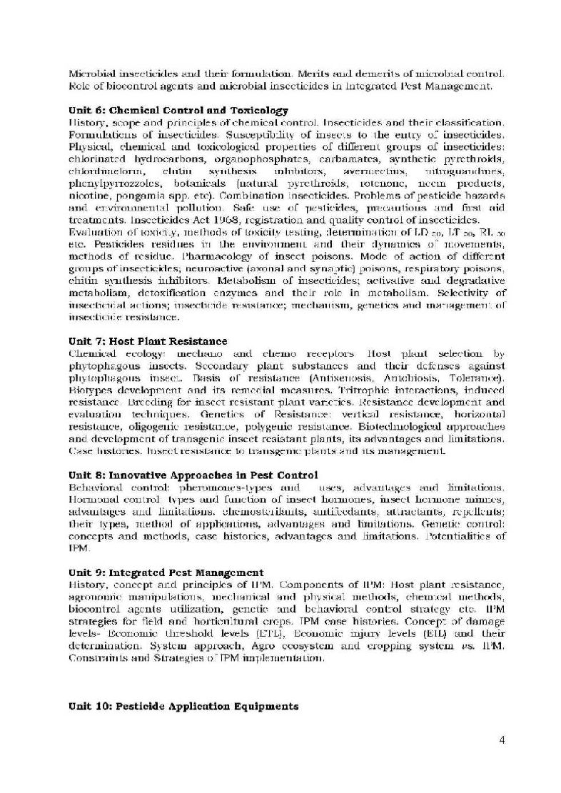 icar jrf syllabus for plant science pdf