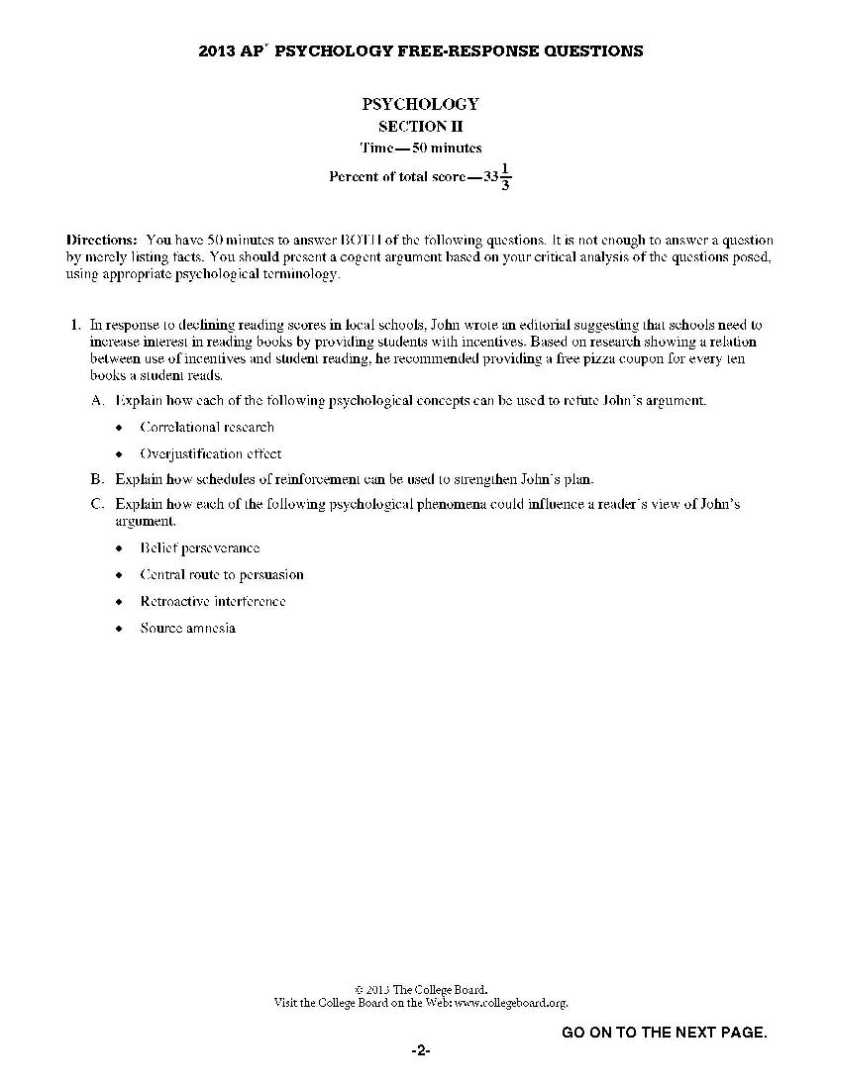 ap psychology essay 2005 Ap® psychology: syllabus 1 syllabus 1058792v1 the ap psychology course is designed to introduce format as the ap exam (multiple choice and short essays).