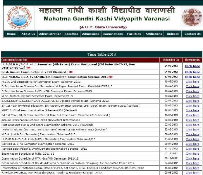 ba timetable pdf