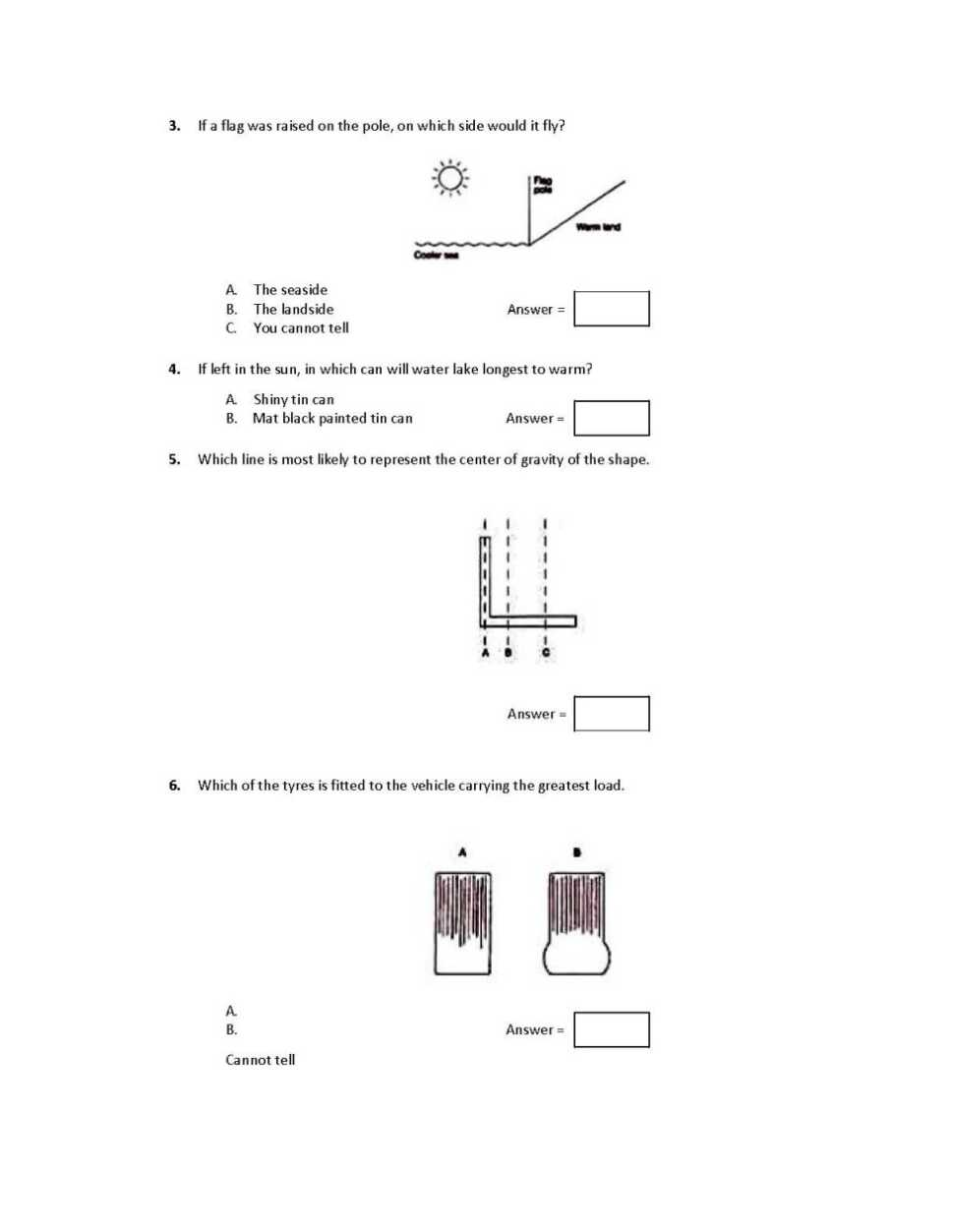 standard pattern essay format