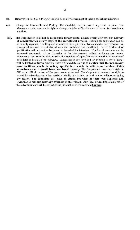 The cotton corporation of india ltd application form 2018 2019 application form of the cotton corporation of india ltd falaconquin