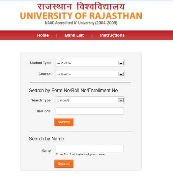 University Of Rajasthan Permission Letter