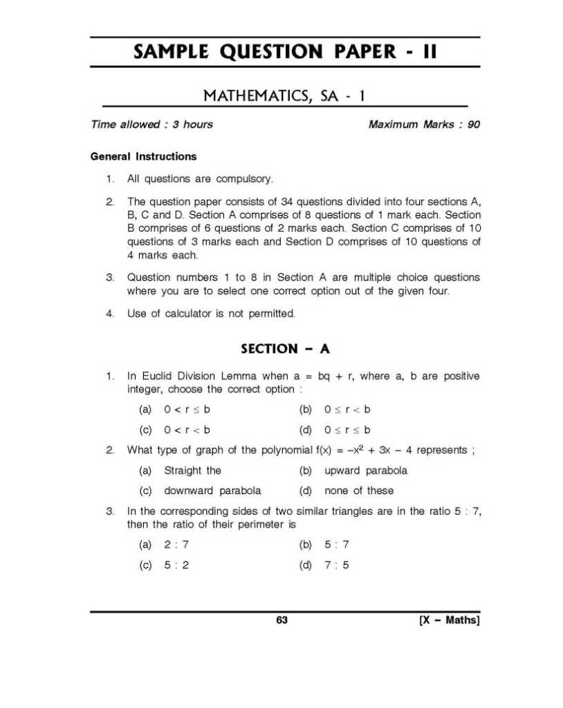 10th standard maths model question papers 2018 2019 studychacha malvernweather Image collections
