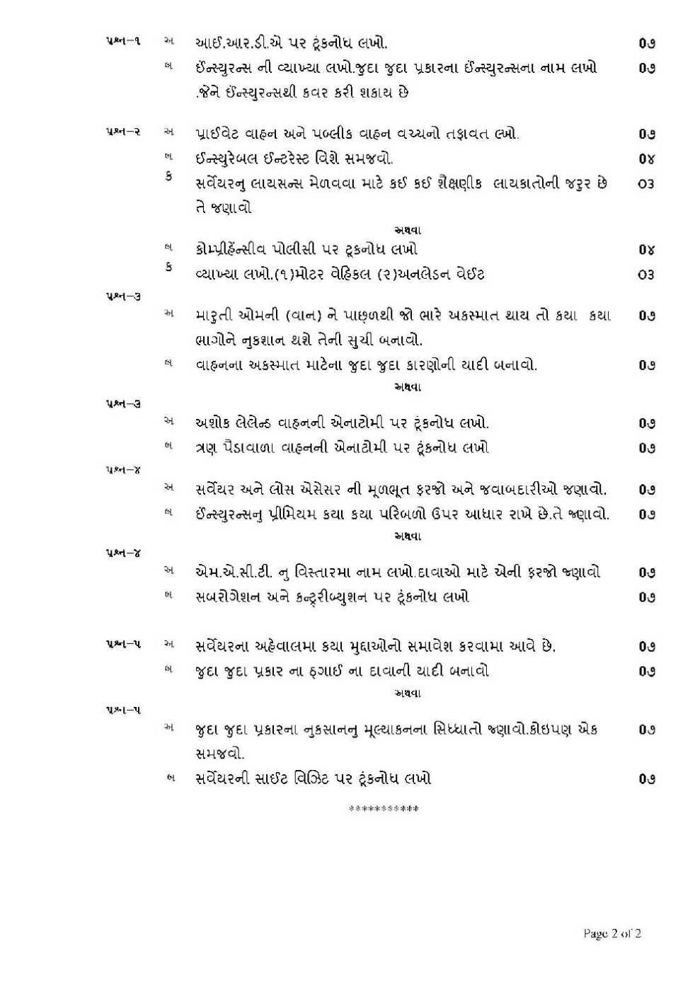 m.e operation research question papers