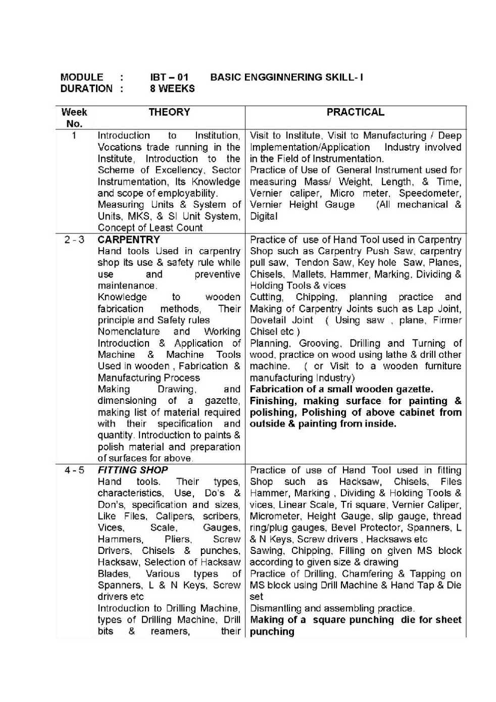 resume format for iti fitter pdf 28 images iti fitter