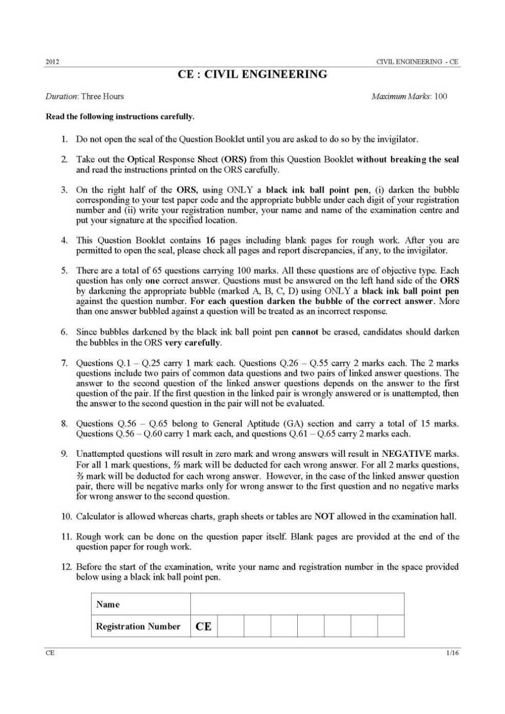 civil engineering essay questions