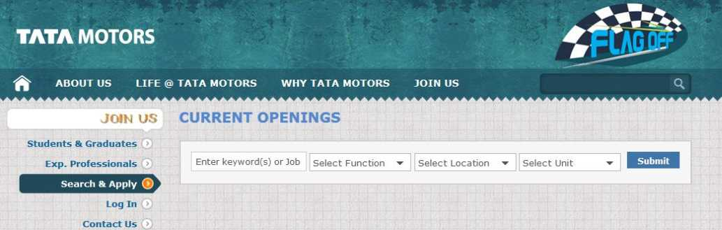 Tata motors procedure to apply for internship 2018 2019 for Internship for mechanical engineering students in tata motors