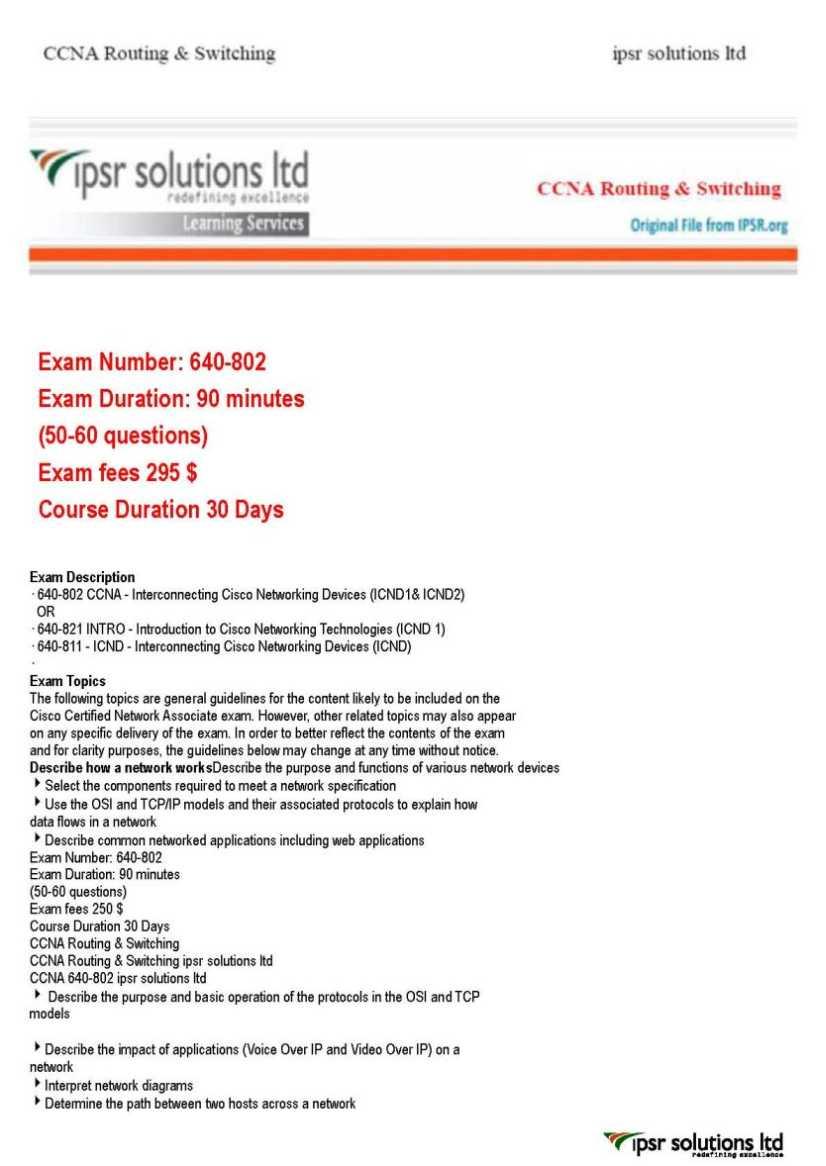 CCNA Security 210-260 Certification Exam Center ...