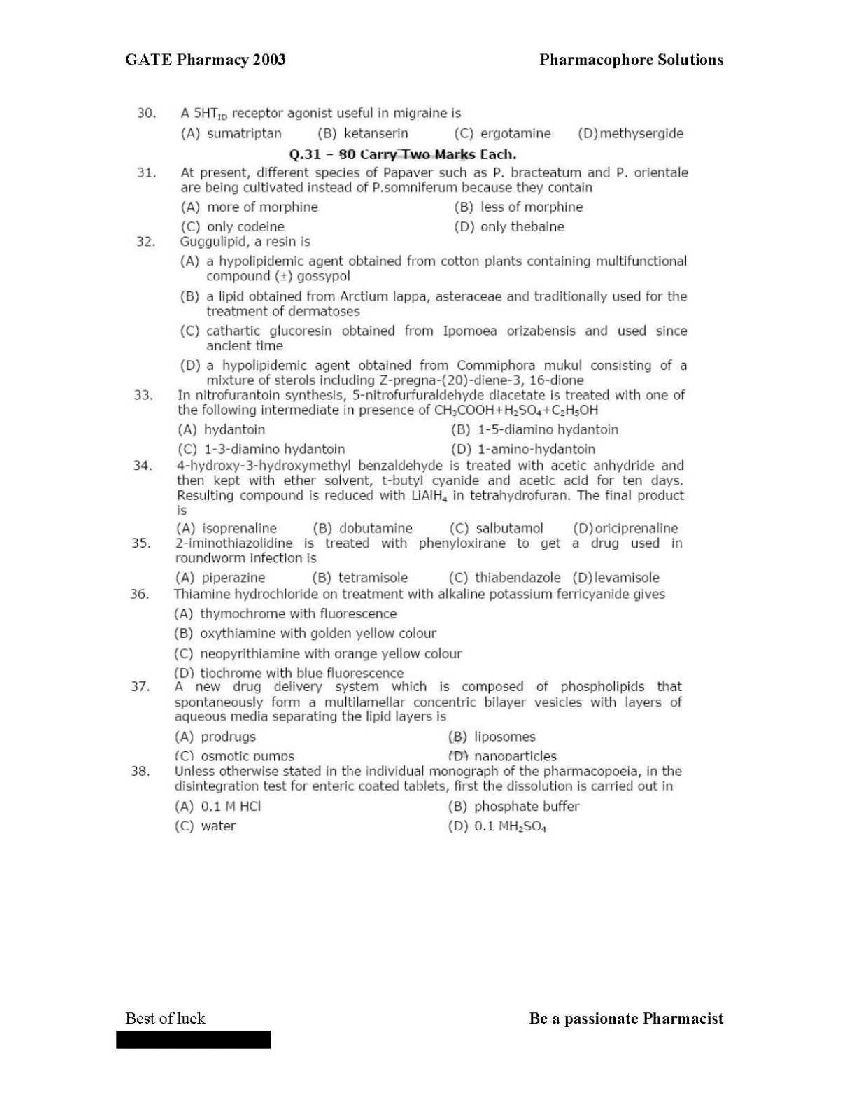 Gpat 2013 Question Paper Pdf