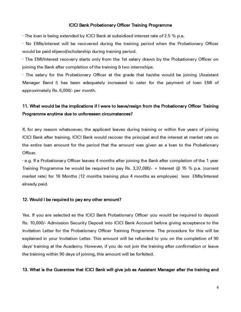 100 invitation letter probationary officer1 loans