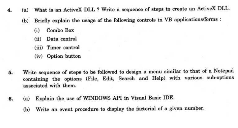 coc exam information technology pdf