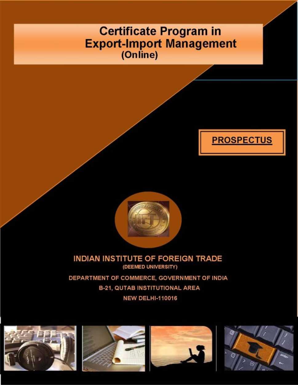 Import Export Courses Online 2018 2019 Studychacha