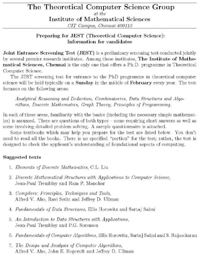 Papers on computer science