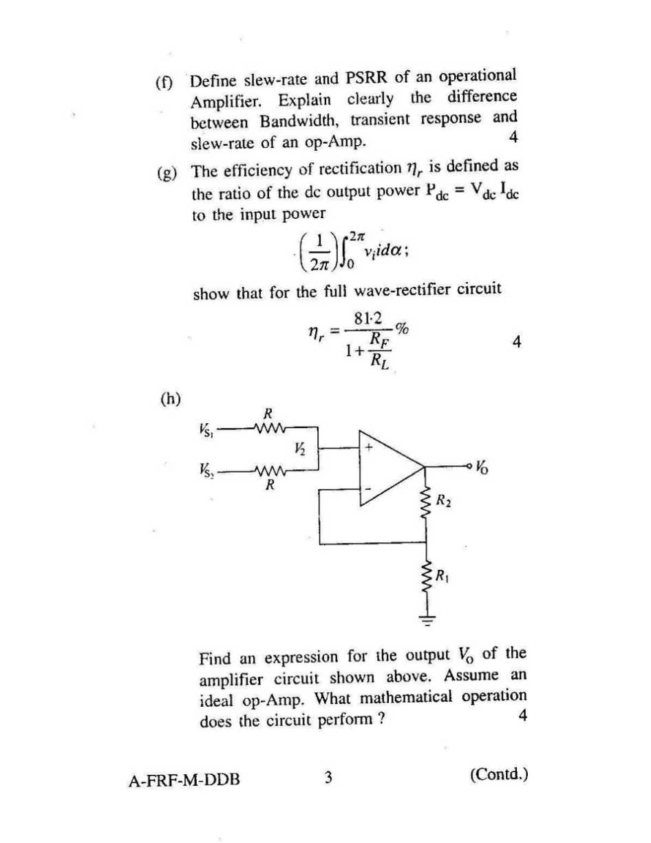 Free electrical engineering research paper
