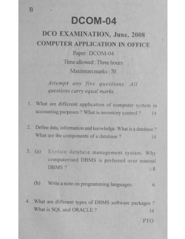 basic computer application exam paper National senior certificate grade 11 november 2014 computer applications technology p1 marks: 180 time: 3 hours this question paper consists of 15 pages including an annexure.